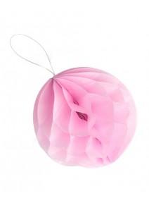 boulesx8/D10cm rose alvéolées