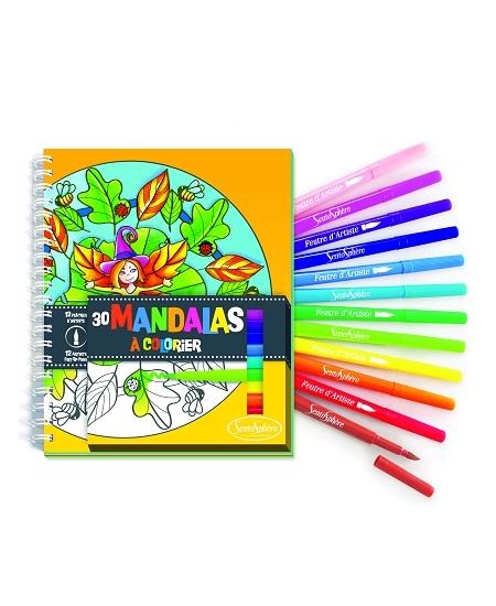 carnet de coloriage mandalas 3ANS+