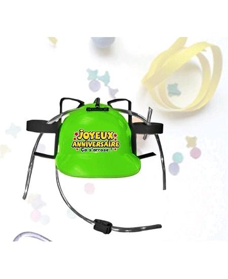 casque anti soif joyeux anniversaire ver