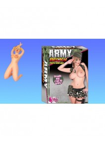 poupée gonflable blonde Army