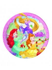 assiettesx8/D22cm princesses