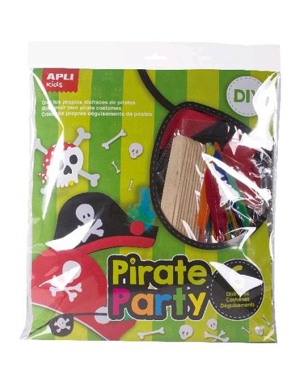 kit 6 pirates à personnaliser