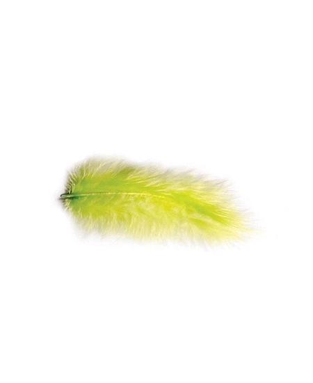 plumes vert lime 5-10cm/10grs