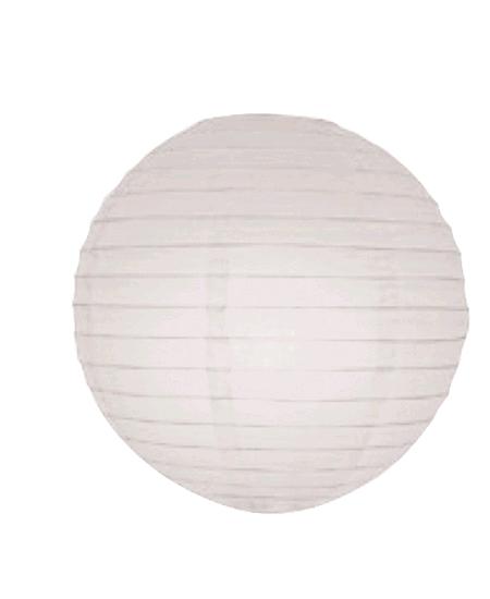 boule japonaise D50cm blanc
