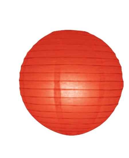 boule japonaise D50cm rouge