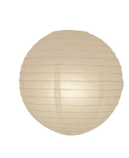 boule japonaise D50cm ivoire