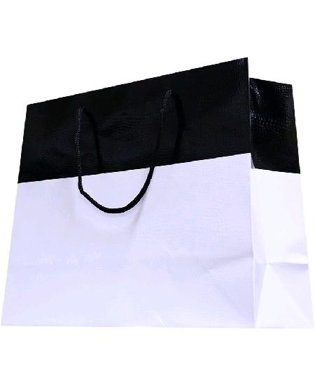 sac cabas 32+13x26cm avec poignée