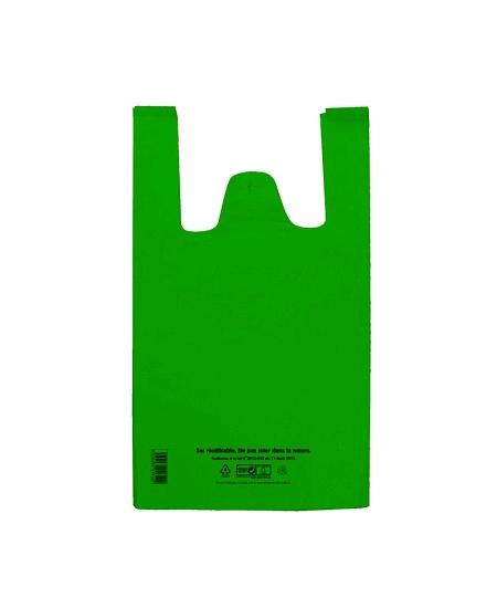 100 sacs 50u/26+12x45cm 10L vert