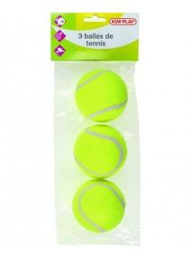 balles de tennisx3