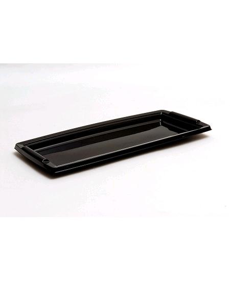 plateaux x5 noir en plastique