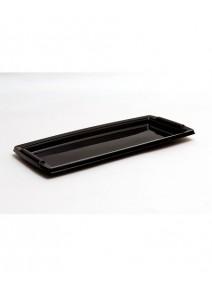 plateau noir en plastique