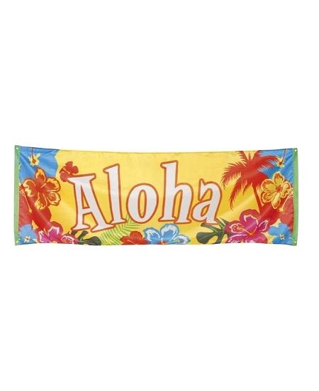 bannière ALOHA 2M20x72cm