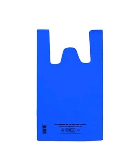100 sacs 50u/26+12x45cm 4KILOS bleu