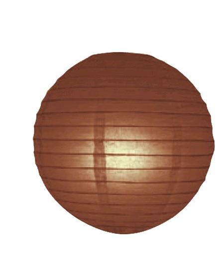 boule japonaise D30cm chocolat