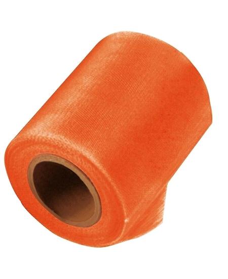 tulle orange 20Mx10cm
