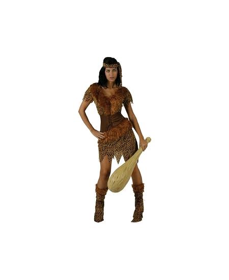 deguisement XL femme des cavernes