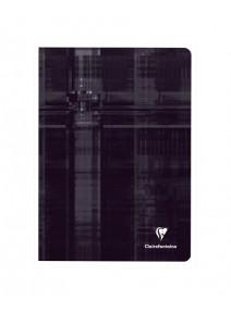 cahier 96pages/24x32cm noir