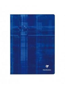 cahier 96pages/24x32cm bleu