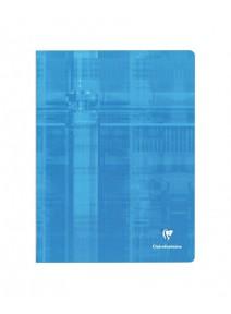 cahier 96pages/24x32cm bleu clair