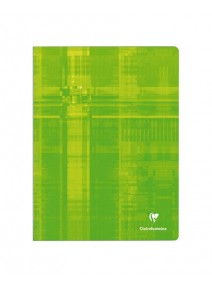 cahier 96pages/24x32cm vert