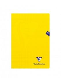 cahier 96pages/21x29.7cm jaune