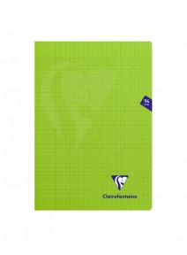 cahier 96pages/21x29.7cm vert pomme