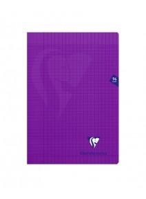 cahier 96pages/21x29.7cm violet