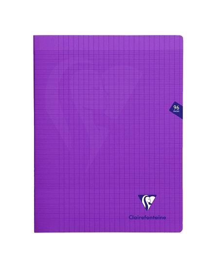 cahier 96pages/24x32cm violet
