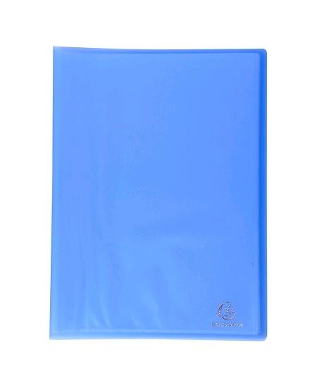 porte vuesx20 pochettes bleu