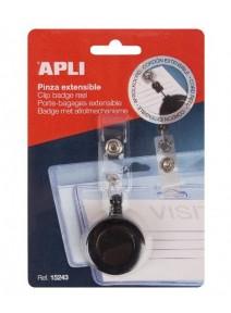 clip extensible pour badge