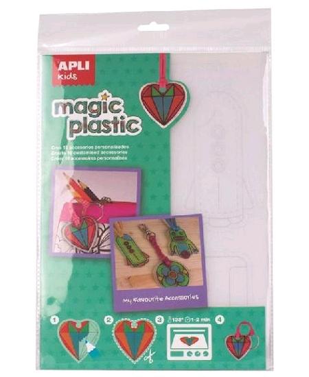 kit plastique dingue bijoux +6ANS