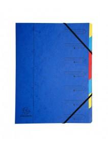 trieur bleu 7compartiments A4