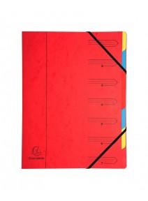 trieur rouge 7compartiments A4