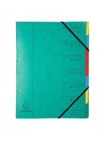 trieur vert 7compartiments A4