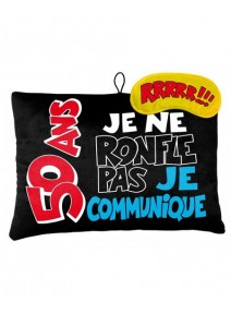 coussin + masque 50ANS