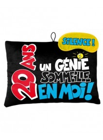 coussin + masque 20ANS