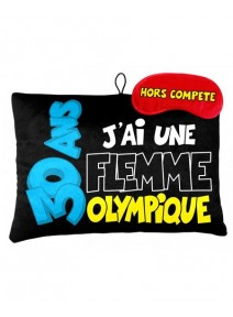 coussin + masque 30ANS