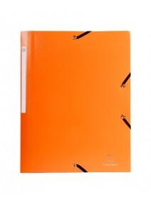 chemise à élastique orange