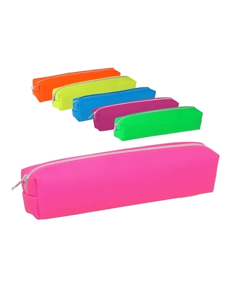 trousse rose fluo