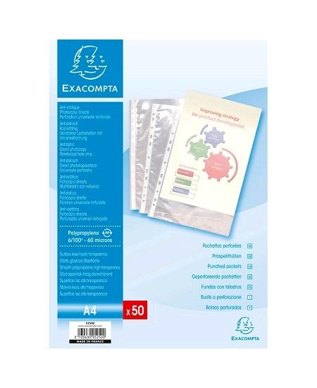 pochettesx50/60microns anti statique