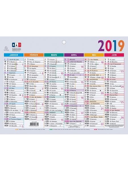 calendrier 2018/13x17cm