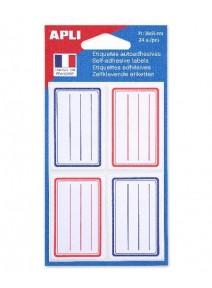 étiquettesx24 scolaires 36x56mm