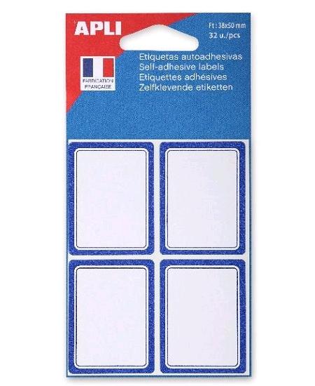 étiquettesx32 scolaires 38x50mm