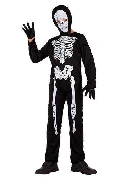 deguisement 5 6ANS squelette