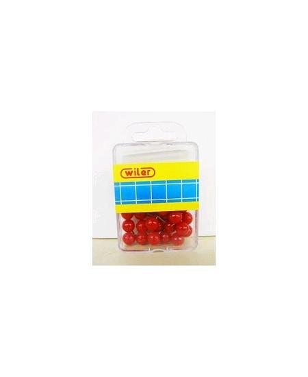 épinglesx30/D1cm rouge