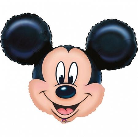 ballon tête Mickey 69cmx53m alu