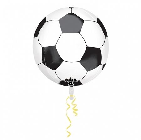 ballon de foot 38x40cm alu