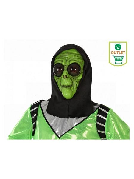 masque alien avec capuche