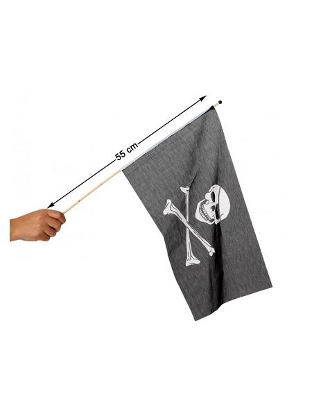 drapeau pirate 45cm x 30cm