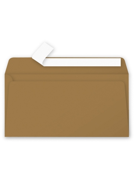 enveloppex20/11x22cm kraft 135grs poll